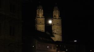 Luna llena en Zürich.