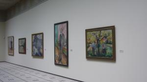 Una de las salas del Museo Kunsthaus de Zürich, que alberga la mayor colección de obras de Edvuard Munch fuera de Escandinavia.