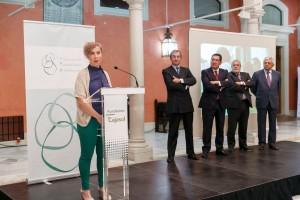 Acto de celebración del Día Europeo de las Fundaciones y Donantes el 1 de octubre de 2015 en Sevilla.
