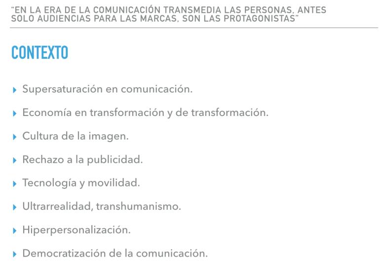 Contexto Actual Comunicación