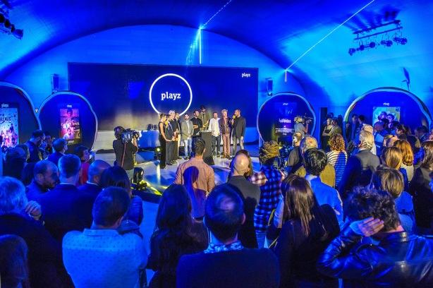 Momento de la presentación de Playz (foto: Panorama Audiovisual)