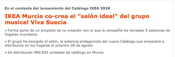 Ikea cocreación